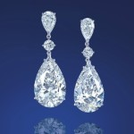 Magnificent Diamond Ear Pendants