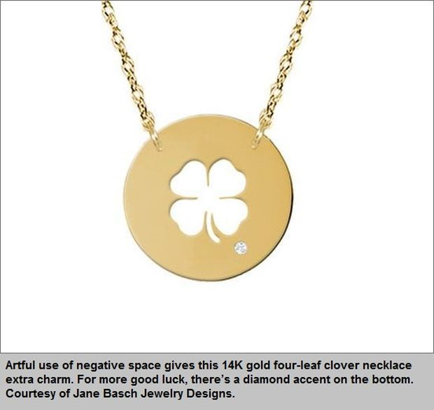 Good luck charms jadeitejade four leaf clovers may be the best known good luck charm in the west and an icon of st patricks day st patrick supposedly used a three leaf clover to aloadofball Choice Image