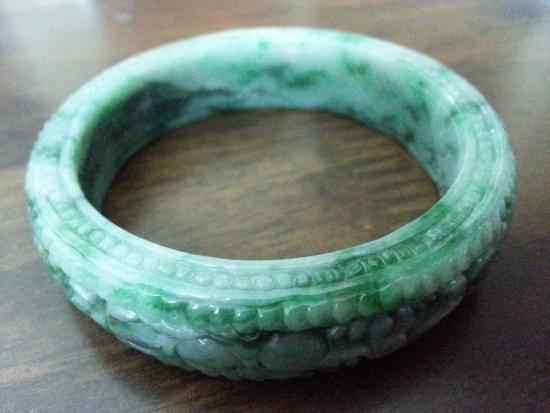1 jade bangle