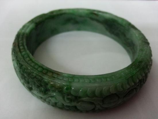 2 jade bangle