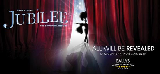 Jubilee Show at Bally's Casino at Las Vegas