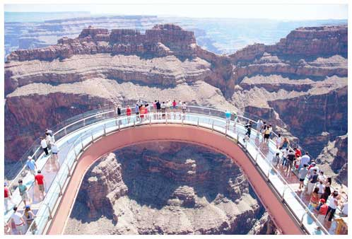 SkyWalk Bridge at the Western Rim, Grand Canyon